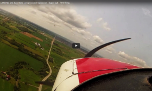 solo-wheel-landing-and-3-pointers-progress-and-regression-super-cub-pov-flying