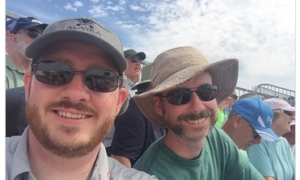 Chris and Steve at Osh 2015