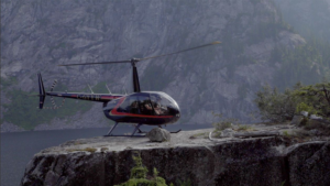 Helicopter Landing - Edge of a Cliff - Bradley Friesen 2